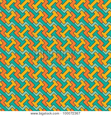 Abstract seamless geometric pattern.  background