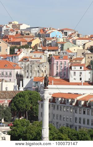 Lisbon Viewed From The Top