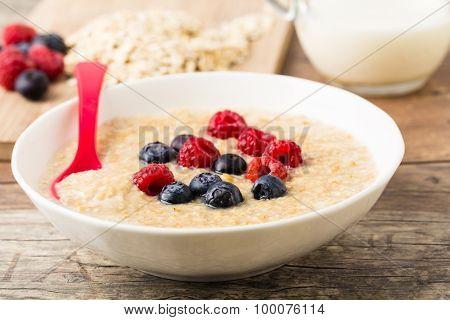 Porridge Mit Berries