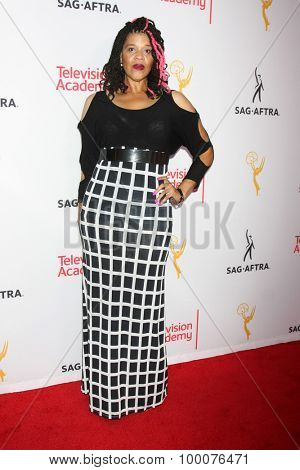 LOS ANGELES - AUG 27:  Tracy Twinkie Byrd at the Dynamic & Diverse Emmy Celebration at the Montage Hotel on August 27, 2015 in Beverly Hills, CA