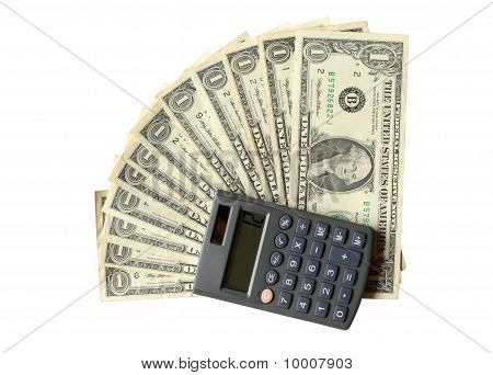 Twelve Dollars And Calculator