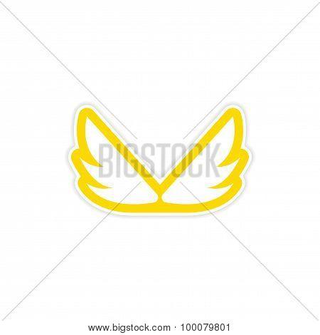 Sticker Eagle Wings logo