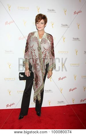 LOS ANGELES - AUG 26:  Carolyn Hennesy at the Television Academy's Daytime Programming Peer Group Reception at the Montage Hotel on August 26, 2015 in Beverly Hills, CA