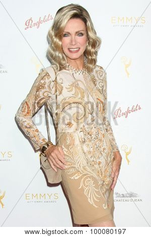 LOS ANGELES - AUG 26:  Donna Mills at the Television Academy's Daytime Programming Peer Group Reception at the Montage Hotel on August 26, 2015 in Beverly Hills, CA