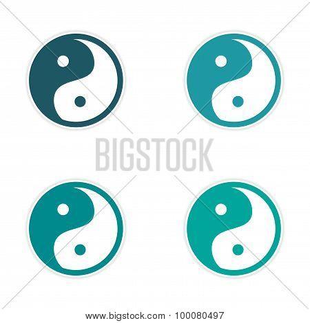 assembly Sticker Yin Yang