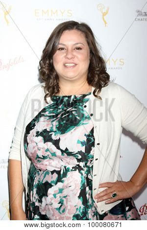 LOS ANGELES - AUG 26:  Angelica McDaniel at the Television Academy's Daytime Programming Peer Group Reception at the Montage Hotel on August 26, 2015 in Beverly Hills, CA