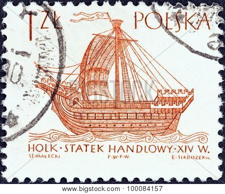 POLAND - CIRCA 1964: A stamp printed in Poland shows Hulk (16th century)