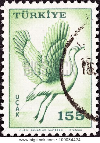 TURKEY - CIRCA 1959: A stamp printed in Turkey from the