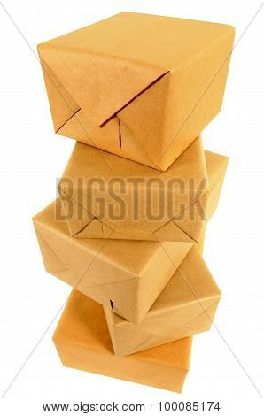 Stack Of Wrapped Packages