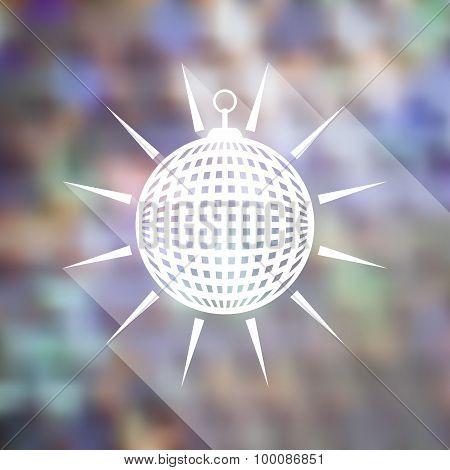 Mirror Disco Ball Icon