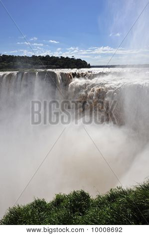 Iguazu Falls Top View
