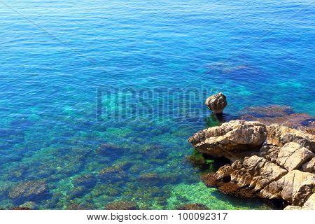 Coast of the Mediterranean Sea.