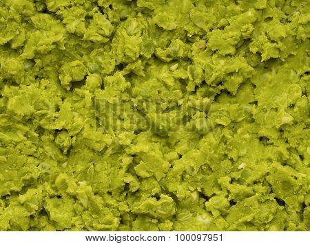 British Mushy Peas Food Background