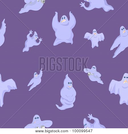 Ridiculous And Funny Ghosts On Halloween