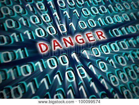 Inscription Danger