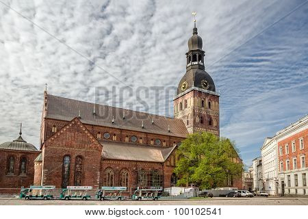 Riga Cathedral Of Saint Mary