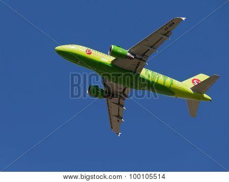 Green Airbus A319-115Lr