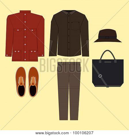 Casual man clothes