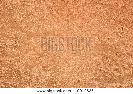 Yellow-brown Rough Plaster Wall Texture