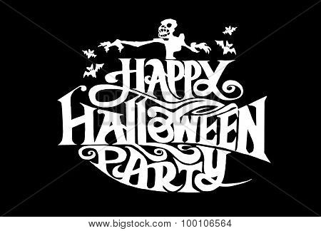Word A Happy Halloween Party