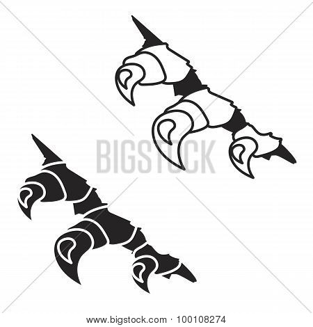 Monsters Or Dragon Claws In Crack