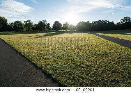 Greenwich Slanted Path