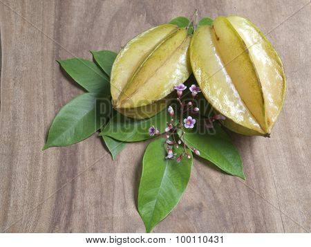 Star Apple Or Star Fruit