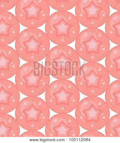 Grunge colorful geometric seamless pattern