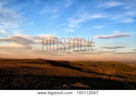 Russian Caucasus Green Mountain