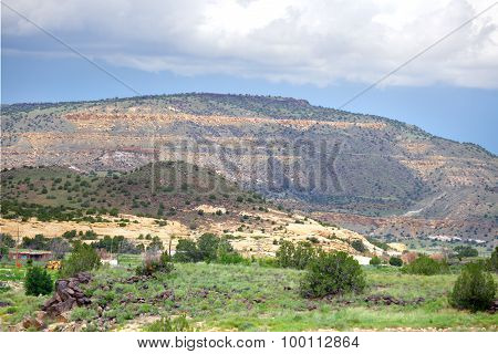 American mountain landscape
