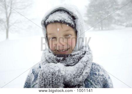 Boy On The Snow