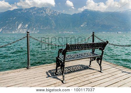 View On Lake Garda Lago Di Garda, Italy