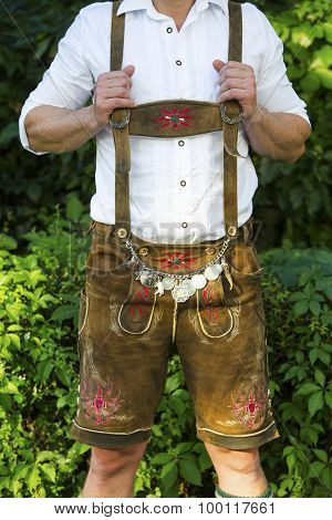 Torso Of Bavarian Man
