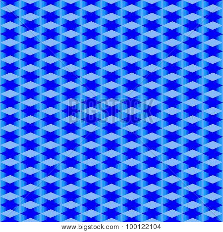Abstract blue seamless texture.