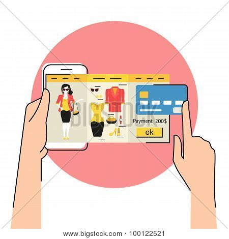 Mobile app for fashion shopping