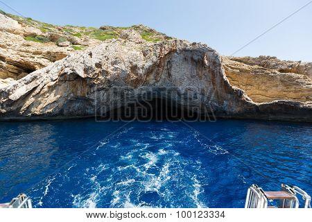 Cave In The Cabrera Island