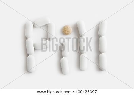 Pill letters