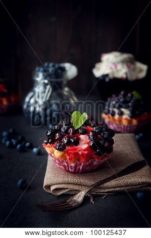 Delicious And Sweet Blueberry Cookie