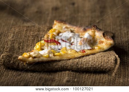 Slice Of Pizza Al Pollo