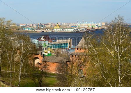 View Of Center Nizhny Novgorod