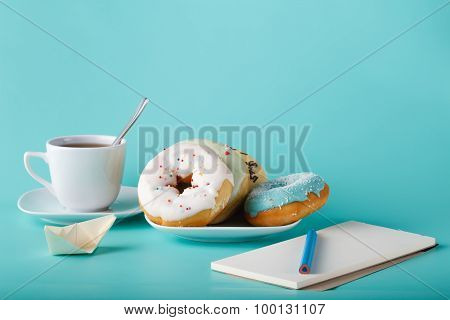 Donuts With Sketchbook
