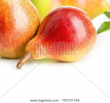 Ripe Pears Close-up