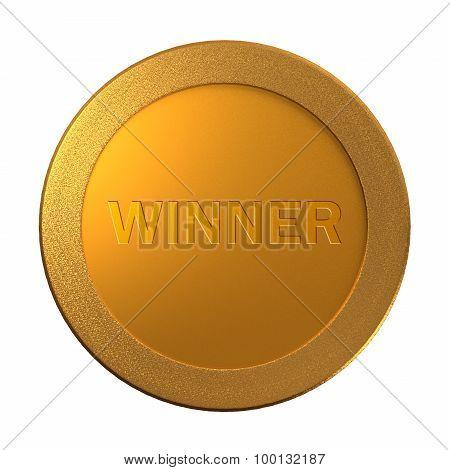 Gold Winner Medal