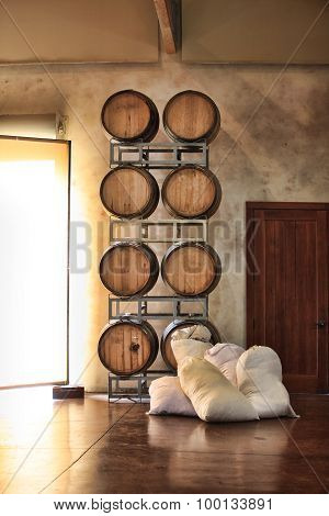 Barrels Of Wine And Sugar