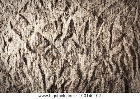 Rustic Burlap Background