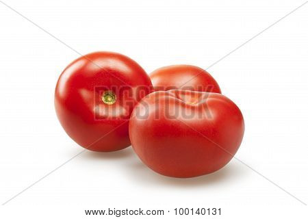 Tomatoes Isolated