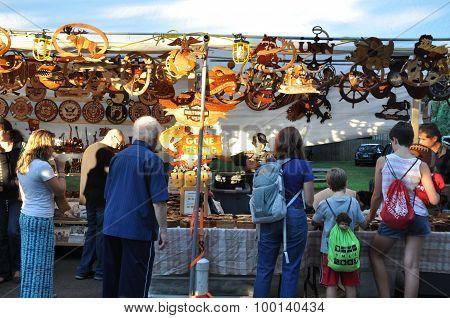 Fair at the 2015 Plainville Fire Company Hot Air Balloon Festival