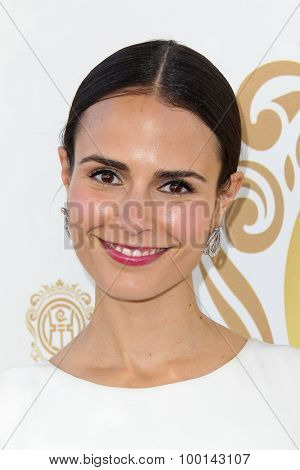 HOLLYWOOD, CA-JUN 1: Actress Jordana Brewster attends the 2014 Huading Film Awards at The Montalban on June 1, 2014 in Hollywood, California.