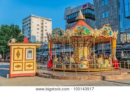 Carousel in Skopje