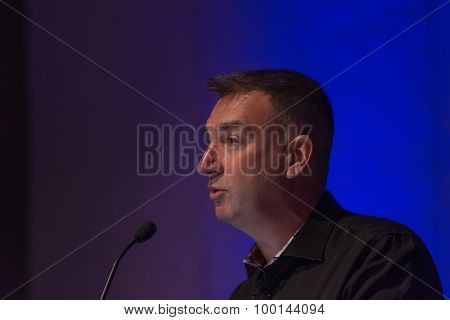 Roy Taylor Corporate Vice President Alliances At Amd, Technologist, Runner.